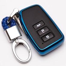 KUKAKEY TPU Car Key Case Cover For Lexus NX GS RX IS ES GX LX RC 200 250 350 LS 450H 300H Auto accessories все цены