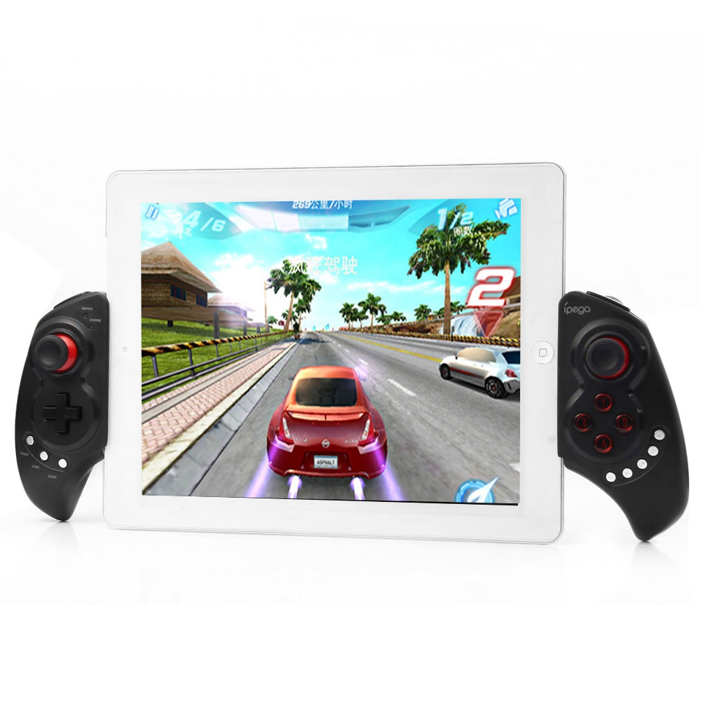 IPEGA PG-9023 Telescopic Wireless Bluetooth Gaming Controller Gamepad Game Joystick with Stand for Android IOS Phone Pad Tablet ipega pg 9021 pg 9021 wireless bluetooth gaming game controller gamepad gamecube joystick for android phone tablet pc laptop