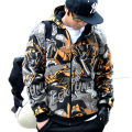 Top Brand Warm Hooded Jacket Famous Brand Mens Hoodies and Sweatshirts Hip Hop Jumpers Plus Size Hot Sale