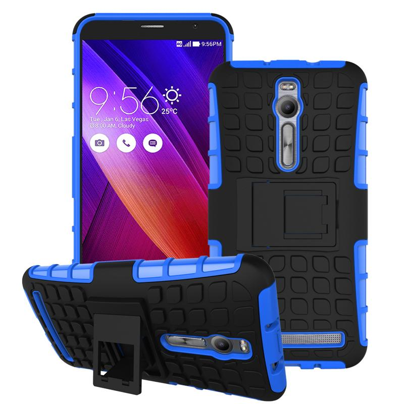 Hard Plastic Protective Phone Case For ASUS Zenfone 2 ZE551ML ZE550ML Hybrid Impact Case Armor Back