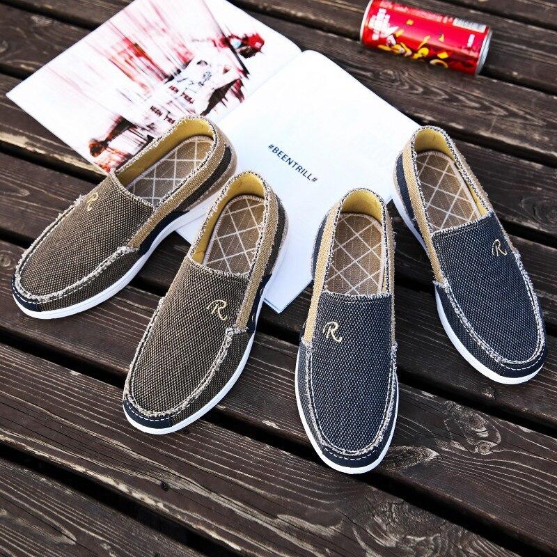 Printemps Hommes Couleur 2018 Toile Confortable 2 De Classique Chaussures Tendance 1 Respirant Mélangée Coréenne Sauvage pdqCwZcq