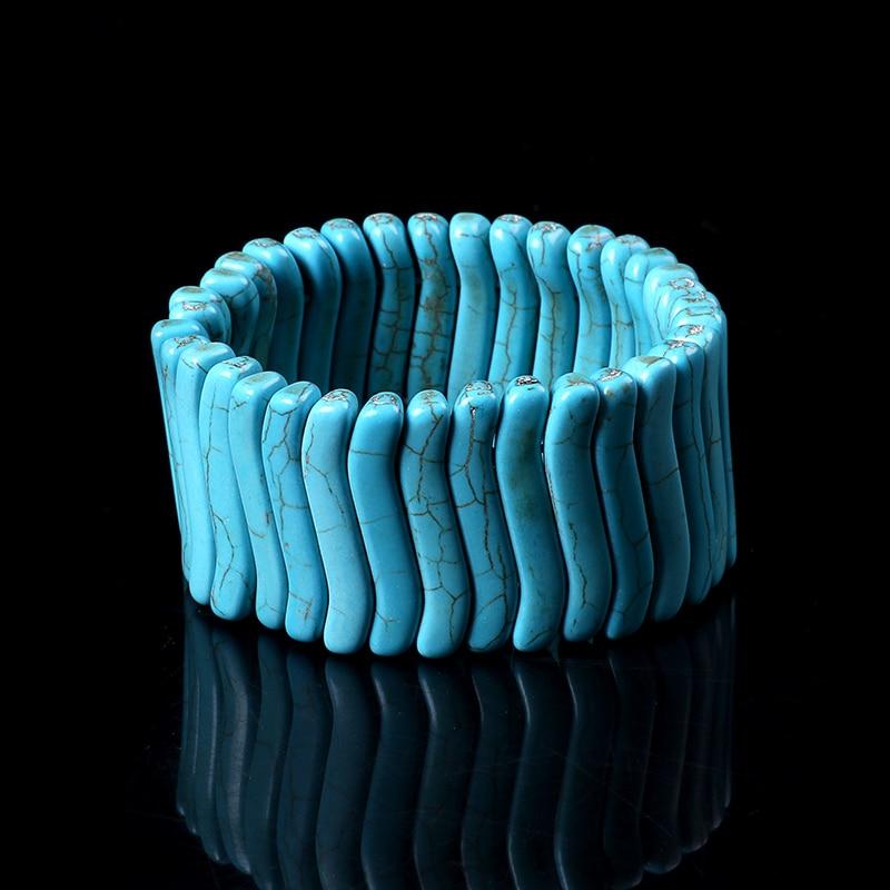 Boho joyería pulsera cuerda elástica ajustable pareja pulseras brazaletes para las mujeres