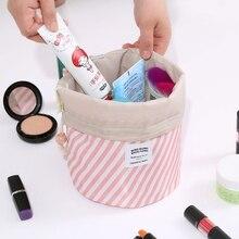 Купить с кэшбэком Cosmetic Travel Toilet Bags Drawstring Toiletry Case Pouch Makeup Bag Organizer