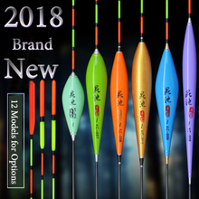 6pcs/lot 2018 Brand New Fishing Float Superfine Workmanship Freshwater Suits For All Kinds of Fish Bobbers  (12Models)