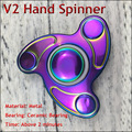 Adult Causual Decompressive Toys Hand Spinner Professional EDC Ceramic Bearing Torqbar Brass Fidget Spinner For Autism and ADHD
