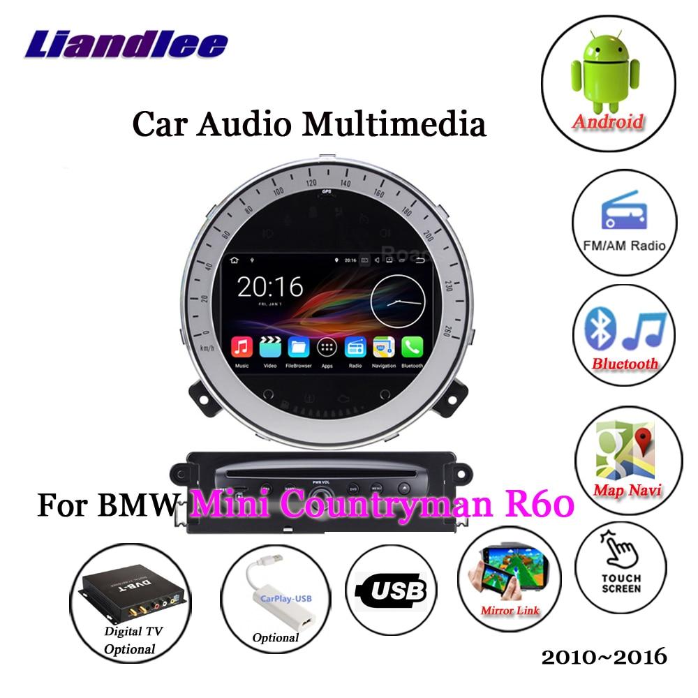 Liandlee для BMW Mini Countryman R60 2010 ~ 2016 радиоприемник для Android стерео Carplay Камера цифровой ТВ gps карта навигатор навигации мультимедиа
