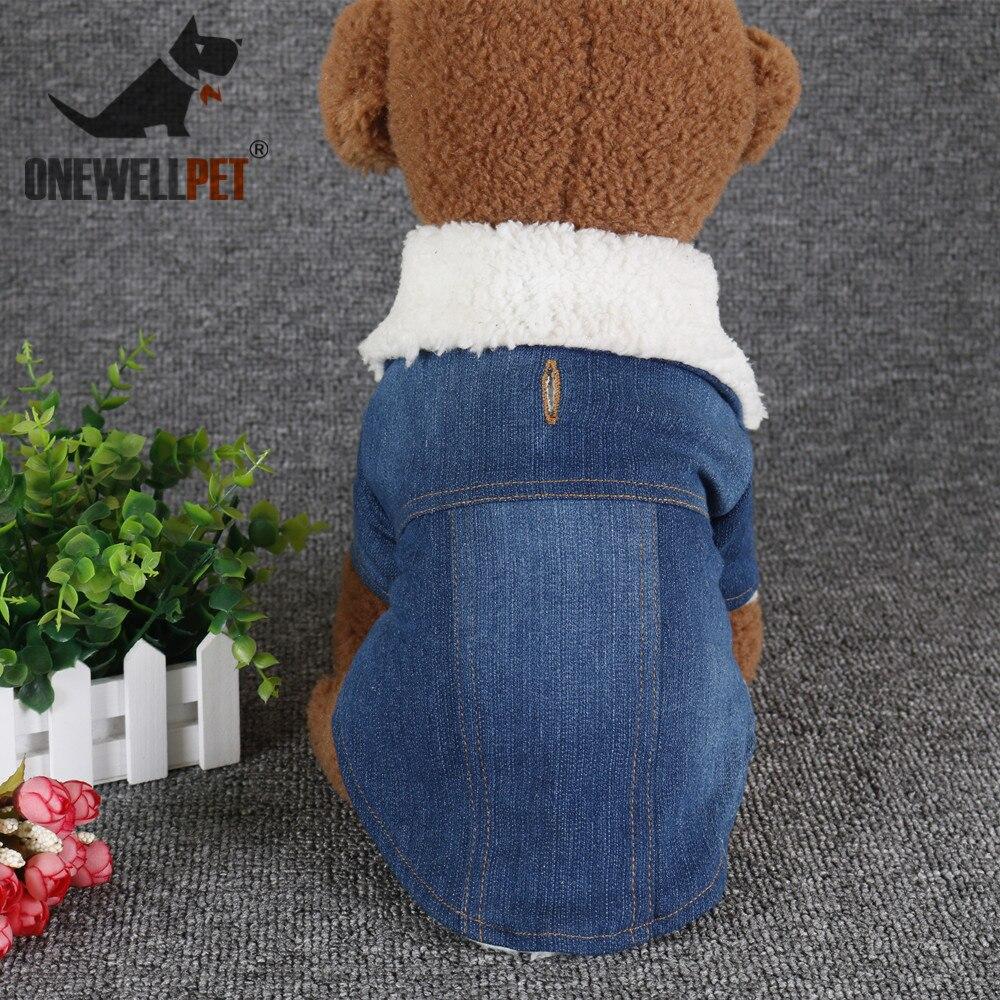 Зимнее пальто Одежда для домашних животных ковбойская джинсовая одежда для маленьких собак зимняя куртка для чихуахуа Прямая продажа с фабрики жилеты для собак Одежда
