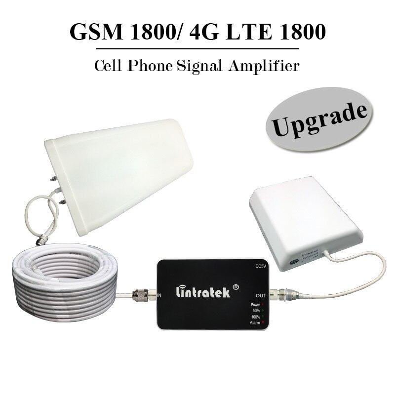 ФОТО Lintratek Upgrade 4G Signal Booster (Band 3) Mini Size FDD 4G LTE 1800MHz Amplificador De Sinal Celular 1800 MHz 4G Antenna Set