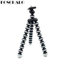 hot deal buy 165x35x35mm universal octopus mini tripod supports stand spong for mobile phones small lightweight dlsr cameras accessories