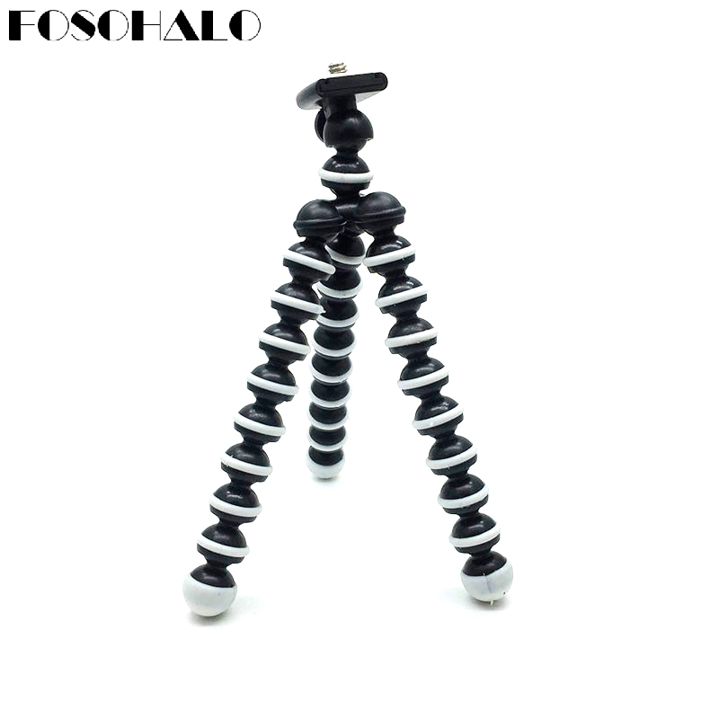 FOSOHALO 165x35x35mmUniversal Mini Octopus font b Tripod b font Stand Spong For Mobile Phones Small Lightweight