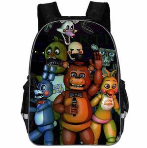 Рюкзак с анималистическим принтом FNAF для мужчин и женщин, школьная сумка для мальчиков и девочек, рюкзак для ноутбука в стиле хип-хоп, Kpop