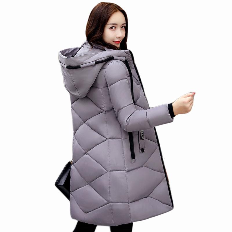 Fashion 2017 winter coat women cotton parka long thick warm ladies jackets coats outerwear jacket female plus size Parka QH0493