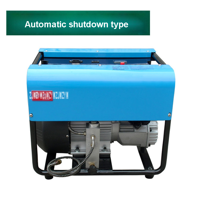 Adjustable Auto-Stop 30MPA Double-cylinder Water-cooled High-pressure Air Pump Electric Air Compressor 220V/50Hz 2.2KW 2800 rpm 1 pcs lot 30mpa air compressor 220 v 50hz high pressure air pump electric cylinder 2800r min high pressure air pump