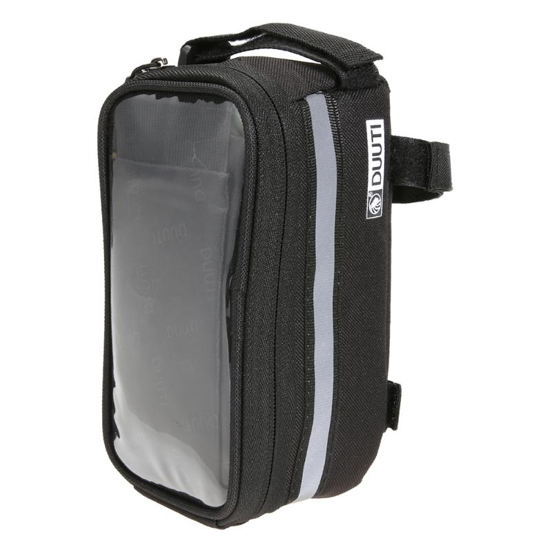 все цены на 4.8-5.7 Inch Waterproof Touch Screen Bike Bag Front Frame Cell Phone Case Mobile Phone Bag for iPhone 5 5S 6 7 SE Bicycle Case онлайн