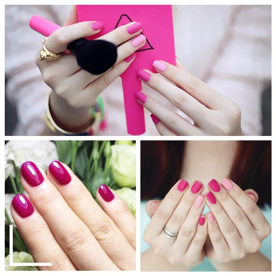 Elite99 15ml Magenta Color Series Nail Art Gel Polish Soak Off Long Lasting UV Gel Nail Polish Nail Lacquer For DIY Manicure 3