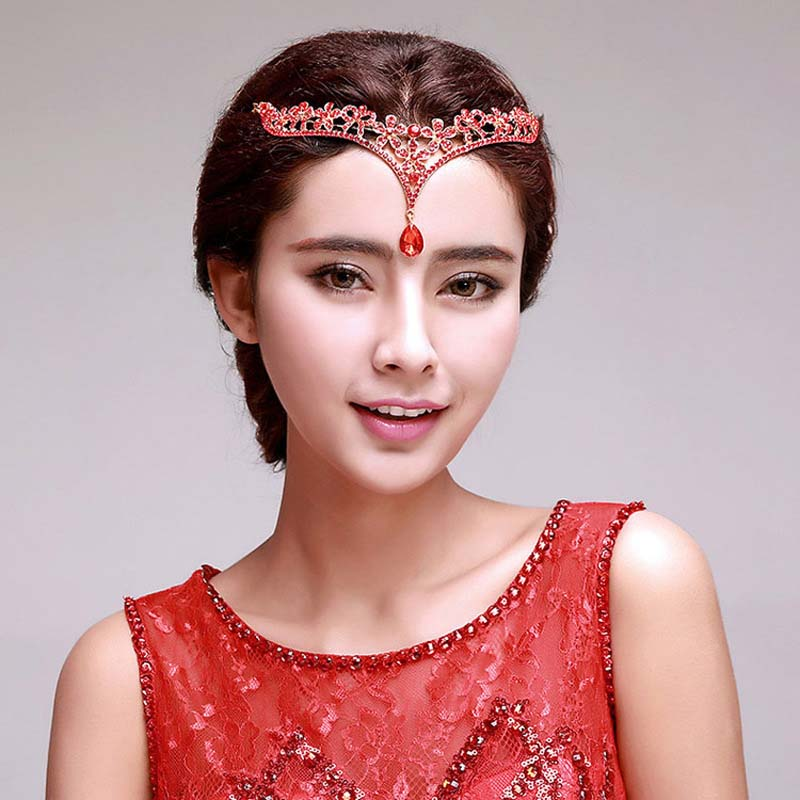 Fairy Queen Delicate Crystal Crown Hair Accessories Bridal ...