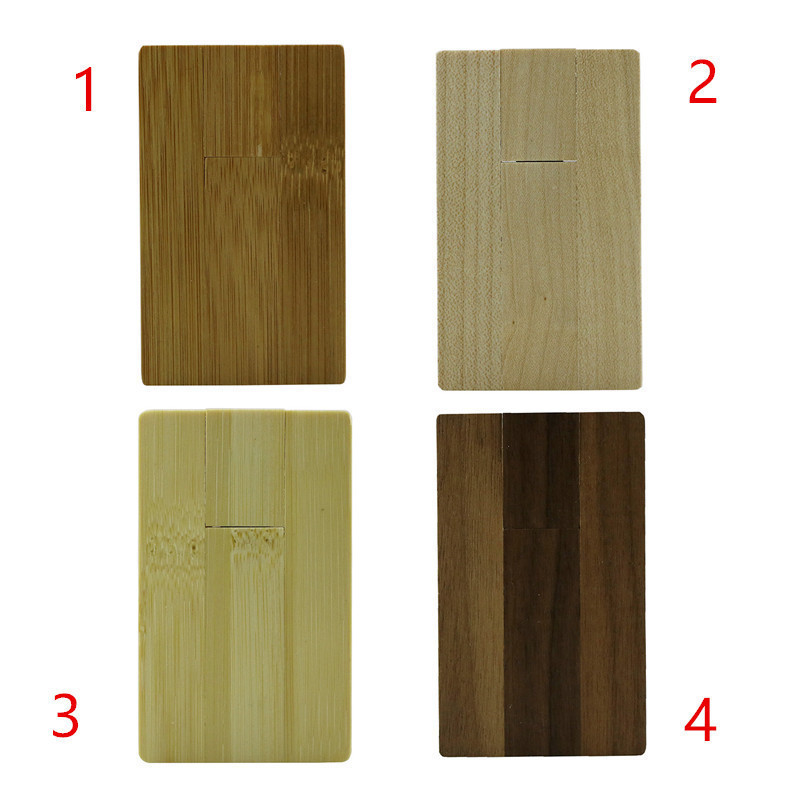 64GB Wood font b Card b font Shape USB Flash Drive font b Memory b font