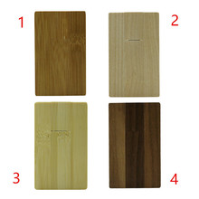 64GB Wood Card Shape USB Flash Drive Memory PenDrive Stick 32GB 4GB 8GB 16GB USB Flash Pen Drive Memory Stick Thumb