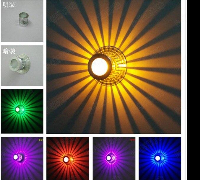 New Ideas Led Aisle Lights Entrance Corridor Modern Living Room Ceiling Lamp Colorful Lighting