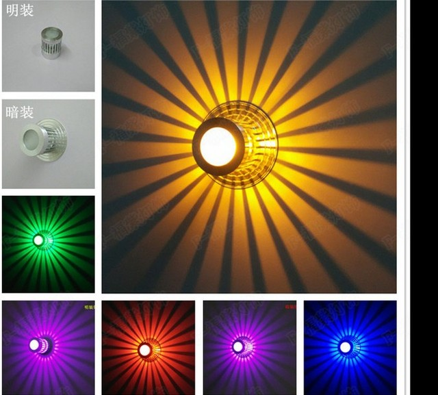 nieuwe ideen led gangpad verlichting entree gang lichten moderne woonkamer plafondlamp kleurrijke verlichting