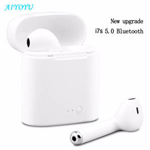 Bluetooth Earphone Earbud-Headset Charging-Box Stereo Huawei Xiaomi I7s Tws Mini Wireless