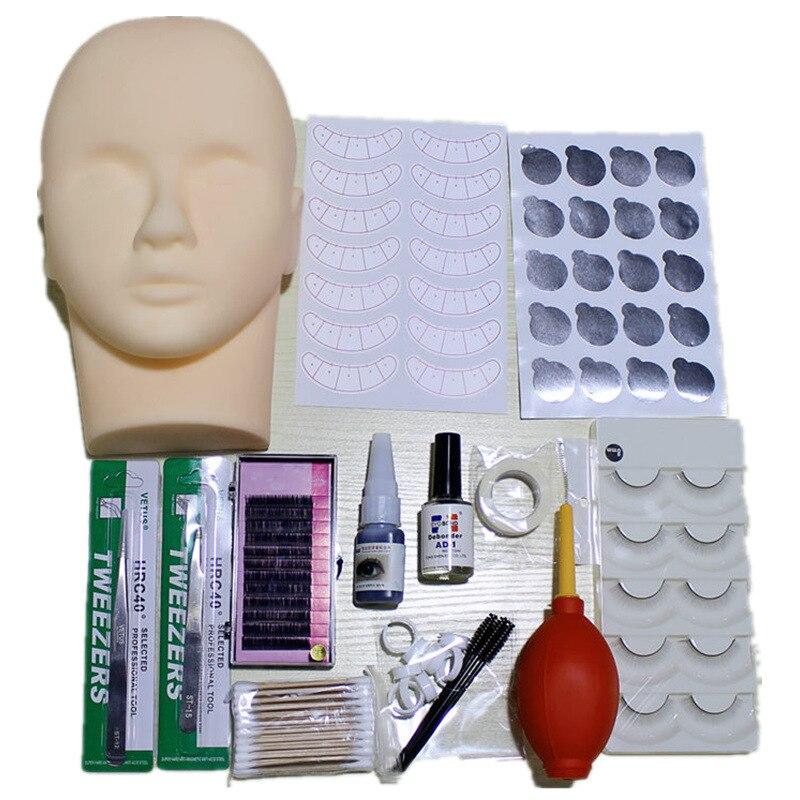 eyelashes extension kit for starter ,fashionable eyelashes