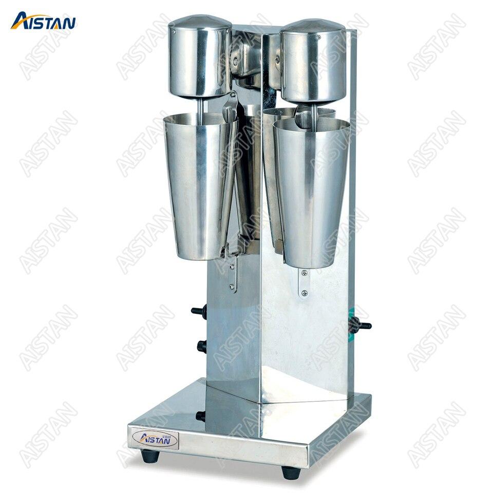 MS2 Электрический двойной головкой кофе молока шейкерная машина с двумя бутылки