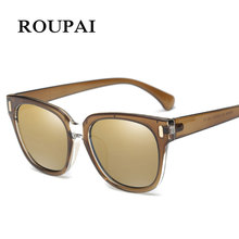 Polarized Sun Glasses UV400 Vintage Women Eyeglasses with Case Spectacles Alloy Brand Designer Driving Sunglasses YP0829