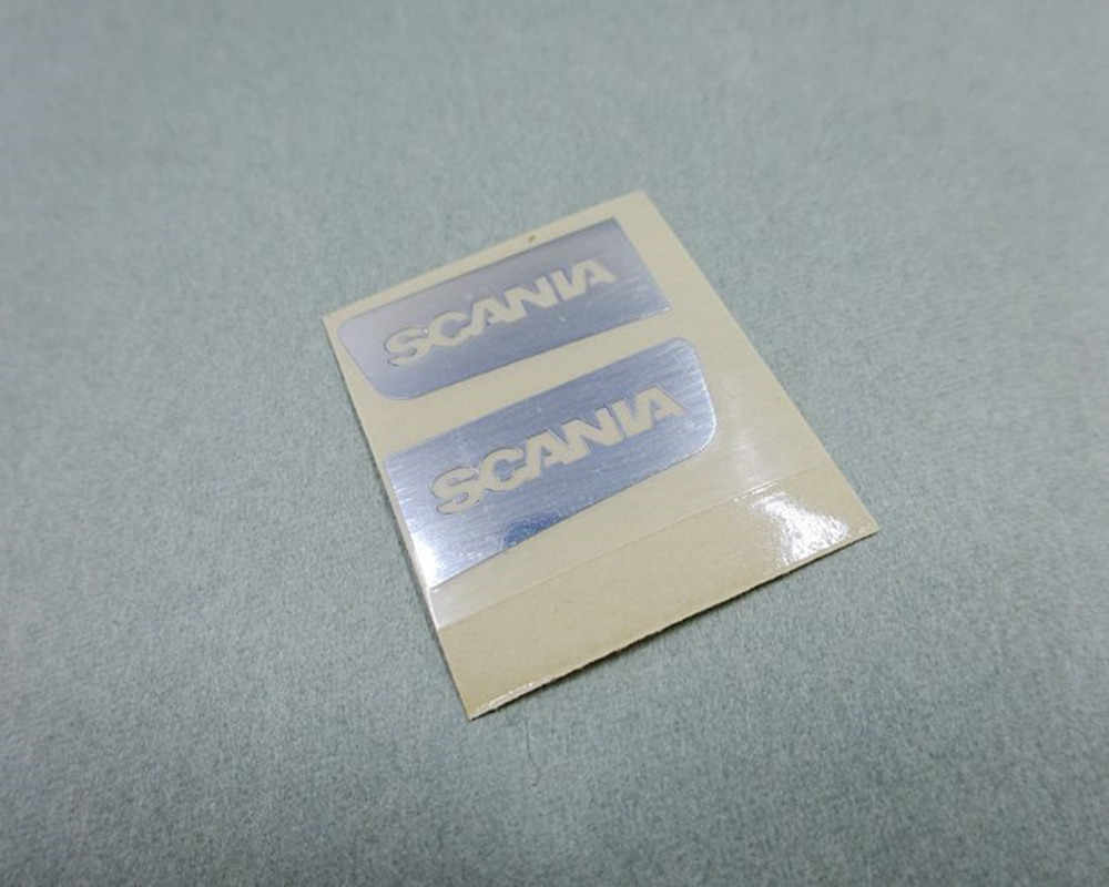Tamiya Scania Truk Spoiler Dekoratif Stiker Decals untuk Tamiya 1:14 Skala RC Scania R620 56323 R730 R470 Truk Traktor Trailer