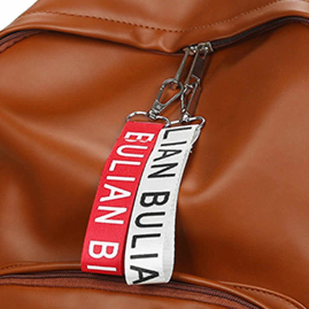 Ocardian 2019 moda feminina mochilas dos homens do sexo feminino couro plutônio mochila sacos de ombro para mochila feminina masculina