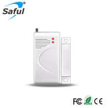 433/315Mhz Wireless Door/window Magnetic Sensor Detector Home Security For GSM Home Security Alarm Systems Free Shipping
