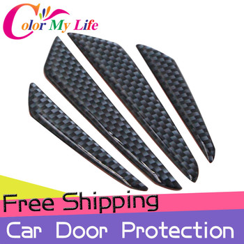 Car Stickers Car Door Protection Strips Car Door Sticker For Renault Duster Megane 2 3 Captur Kadjar Clio Logan Fluence Scenic image
