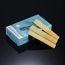 High Quality 10pcs/lot Bb Tenor Saxophone Sax Bamboo Reeds Strength 3.0 / 2.5 / 2.0 for Option Saxophone Accessories