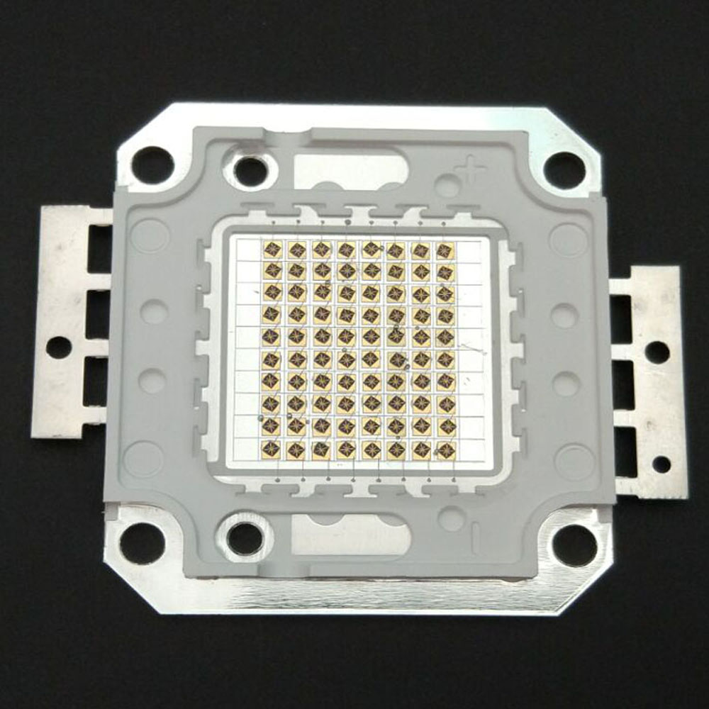 100W Infrared Emitted Infrared led High Power 850nm COB IR Array Infrared Lamp IR LED Security 100w square base infrared ir 850nm smd led light lamp parts 17v 3500ma