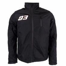 2016 Marc Marquez 93 Logo Moto GP Jacket Black Waterproof Panel Soft Shell Jacket