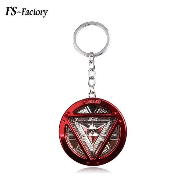 Hot Sale Jewelry Iron Man Keychain Avengers Infinity War Key Chain for Women Men