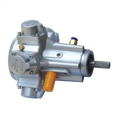 Air Drive Pneumatic Radial Piston Motor Mixer 500RPM 0.75HP 20mm shaft H- Torque changchai 4l68 engine parts the set of piston piston rings piston pins
