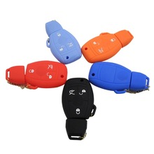 2ps Silicone Key Cover For Mercedes For Benz Fob Remote Case Of Smart A C E