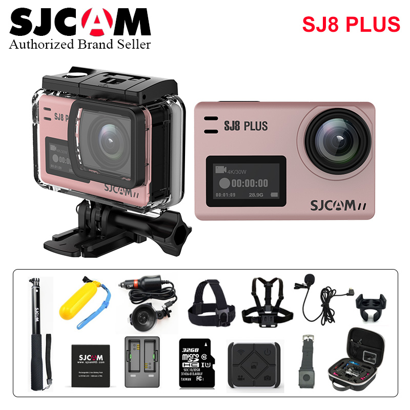 SJCAM SJ8Plus Anti-Shake Dual Touch Screen Remote Sport Action Camera WiFi 4K 60fps Diving 30M Waterproof Novatek NT96683 SJ 8 PSJCAM SJ8Plus Anti-Shake Dual Touch Screen Remote Sport Action Camera WiFi 4K 60fps Diving 30M Waterproof Novatek NT96683 SJ 8 P