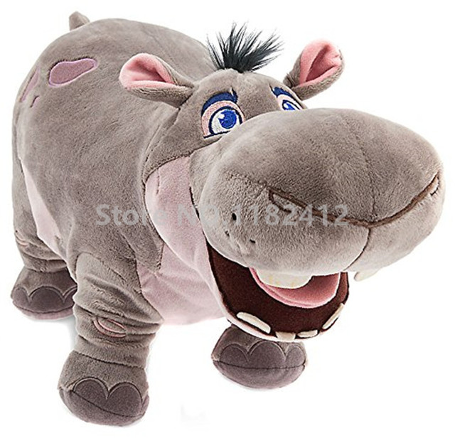 The Lion Guard Beshte Hippo Plush Toy Stuffed Animals 40cm 16