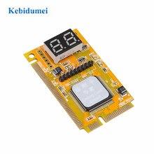 Kebidumei PCI-E LPC PC анализатор тест er POST карты Тест пластик/металл высокая стабильность для ноутбука Экспресс-карты Hexadecim