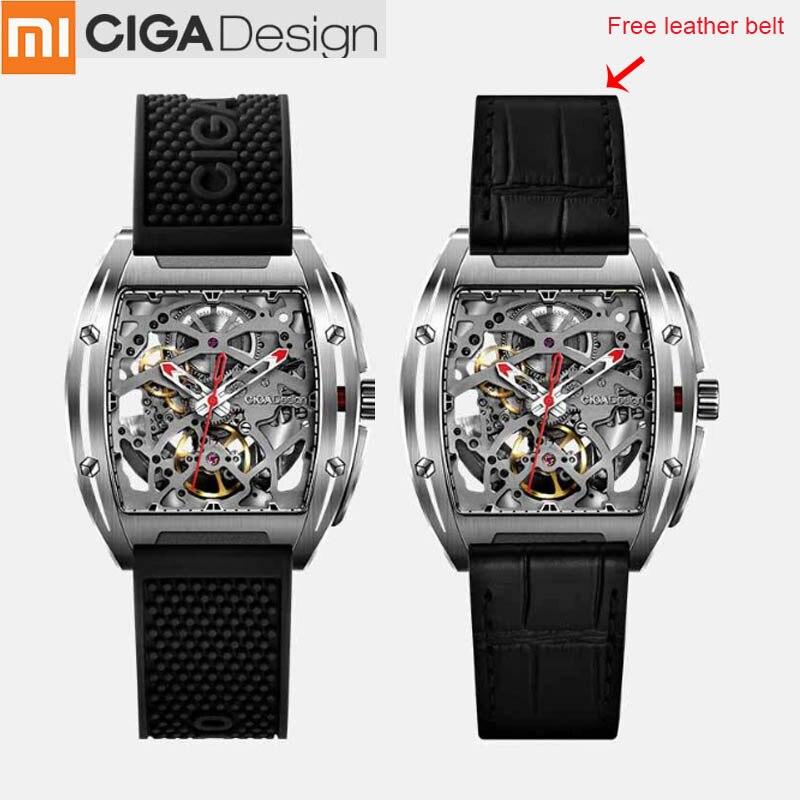 Xiaomi CIGA Design Z Series Mechanical Wristwatches Fashion Luxury Watch Xiaomi Watch Double Strap Artificial Sapphire