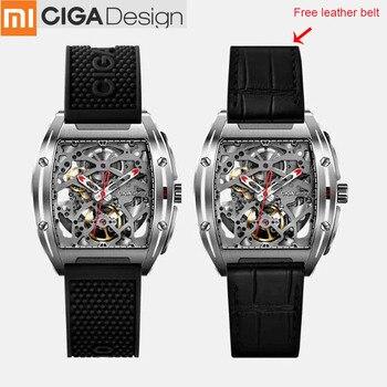 Xiaomi CIGA Design Z Series Mechanical Wristwatches Fashion Luxury Watch Xiaomi Watch Double Strap Artificial Sapphire Crystal Туалет