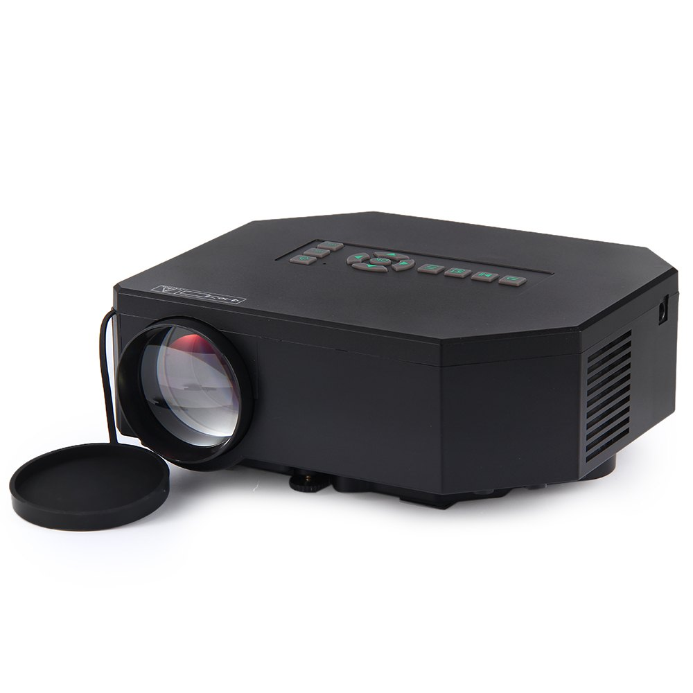 UC30 Mini Pico Portable Projector LED Proyector UNIC 1080P Projection With USB SD VGA HDMI AV Cheaper Small Than UC46 GM60 UC40