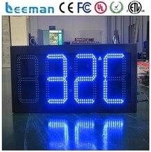 Leeman открытый из светодиодов время дата температура вход 10 дюйм(ов) из светодиодов часы с год / месяц / день / hh / mm / ss / температуры
