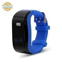 Das alter Smart Armband SOS alarm smart uhr GPS-position Tracker Armband unterstützung sim-karte Für Android & ios smartwatch telefon