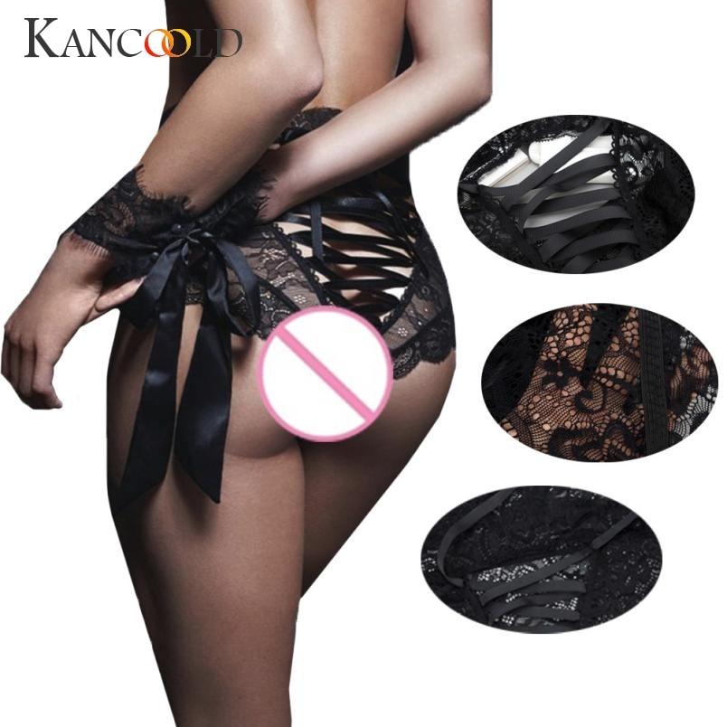 KANCOOLD Intimates panties fashion Women's Sexy Lingerie Sexy Bare Imitation Lace Underpants panties sexy 2018JU12