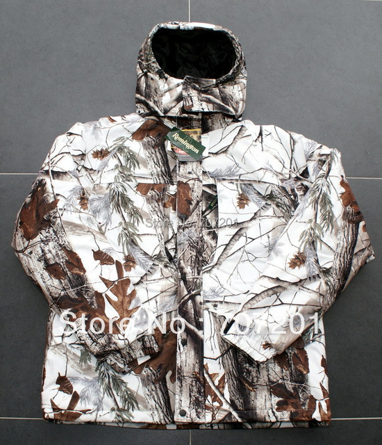 15e02ea9b1737 Remington Winter Outdoor Clothing Hunting Suit Winter Camouflage Realtree  Cold Weather Gear L XL XXL Snow Bibs & Parka for Men