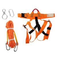 Скалолазание Страховочные ремни сидя пояса скалолазание карабин веревка Шестерни комплект