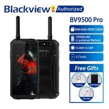 "Blackview BV9500 Pro Su Geçirmez Walkie Talkie Smartphone 6 GB RAM 128 GB ROM Octa Çekirdek 5.7 ""FHD 18:9 10000 mAh Pil Cep Telefonu"